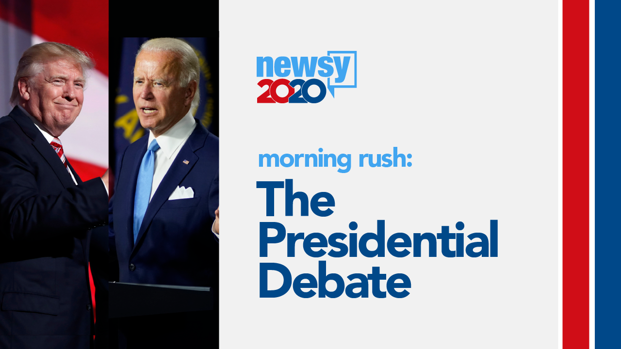 Morning Rush: The Presidential Debate