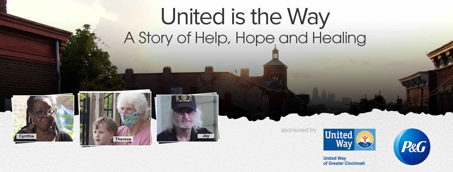 United Is The Way: A Story of Help, Hope and Healing.