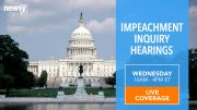 Newsy Live: Impeachment Hearings
