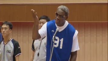 That Time Dennis Rodman Sang Happy Birthday To Kim Jong-Un