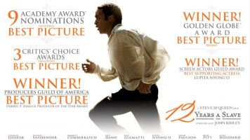'12 Years A Slave' Sweeps Spirit Awards Day Before Oscars