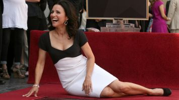 Julia Louis-Dreyfus Laughs At Walk Of Fame Star Misspelling