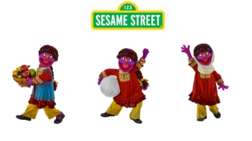 The Newest 'Sesame Street' Character Fights For Women's Rights