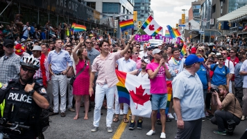 Canadian PM Justin Trudeau Just Made History At Toronto's Pride Parade