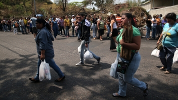 Hundreds Of Venezuelan Women Storm Colombia's Border To Find Food