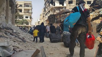 'Tell The World We Want Freedom': The End Of The Daraya Siege