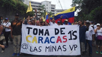 Venezuelans Traveled Thousands Of Miles To Protest Their President