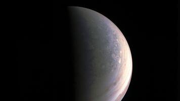 Photos Of Jupiter's North Pole Give A Glimpse Of What's To Come