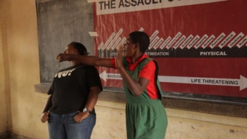 Self-Defense Classes Could Help Kids Kick Sexual Assault In Africa