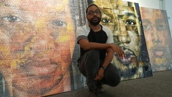 Art As Protest: How One Artist Uses Portraits To Confront Injustice