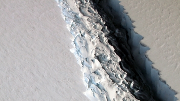 An Iceberg The Size Of Delaware Is Ready To Break Off Antarctica