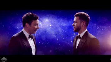 Jimmy Fallon's 'La La Land' Intro To The Golden Globes Was Movie Magic