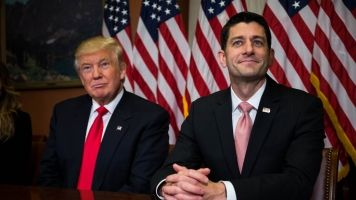 Paul Ryan Pitches His Tax Reform Plans To Donald Trump's Team