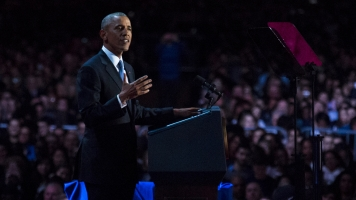 Thousands Of Obama Supporters Give 44th President A Chi-Town Send-Off