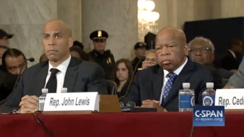 Booker, Lewis Testify Against Sen. Sessions For Attorney General