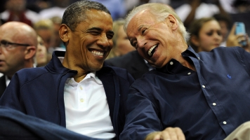 From Rivals To 'Brothers': A Look Back On The Obama-Biden Bromance