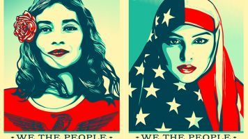 Street Artist Creates Protest Poster Series For Trump's Inauguration