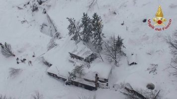 Dozens Missing After Avalanche Buries Italian Mountainside Hotel