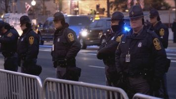 Here's What D.C.'s Inauguration Security Looks Like On The Ground