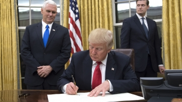 Trump Targets Obamacare With His First Executive Order