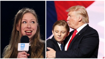 Chelsea Clinton Blasts Barron Trump's Internet Trolls For Him