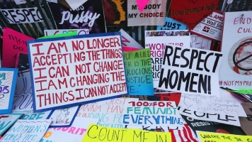 Museums Around The World Are Collecting Signs From The Women's March