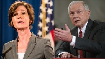 Yates And Sessions Agree: The Law Comes Before The President