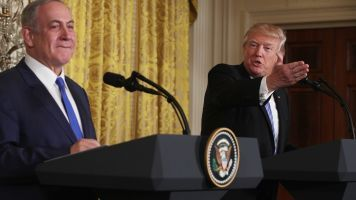 Trump Refuses To Openly Support Or Oppose A Two-State Solution
