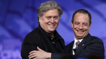 What Struggle? Steve Bannon, Reince Priebus Show United Front At CPAC