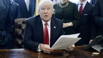 Leaked Government Document Seems To Be At Odds With Trump's Travel Ban