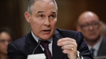 EPA Chief Says Carbon Dioxide Doesn't Cause Climate Change