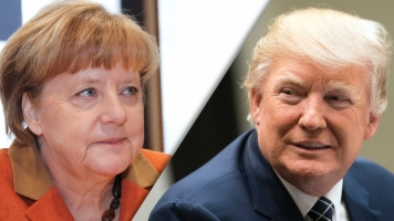 It Might Be Their First Meeting, But Trump And Merkel Have A History