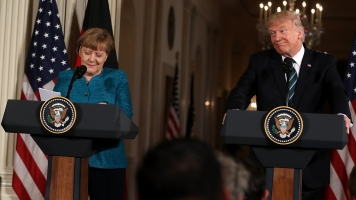 Trump Tried To Bond With Merkel Over Unproven Wiretapping Claims
