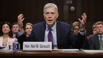 Neil Gorsuch Tells Senators He Wouldn't Bend To Trump On Supreme Court