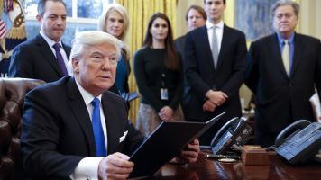 Trump's Travel Ban Gets Support From 13 States
