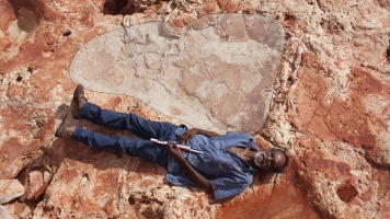Check Out The Biggest Dinosaur Footprint Ever Discovered