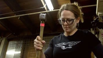 A Woman's Job: The Blacksmith