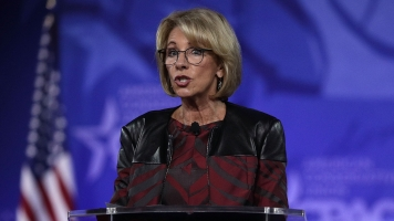 Education Secretary DeVos Gets Pricey Protection From US Marshals