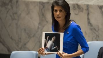 Nikki Haley Now Says Removing Assad From Power Is A US Priority