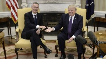 President Trump Says NATO Is 'No Longer Obsolete'