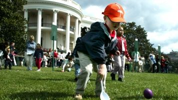 The White House Easter Egg Roll Dates Back More Than A Century