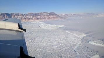 Scientists Don't Know What Caused A Crack In This Greenland Glacier