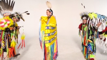 A Native American Tribe Promotes Wellness Through Powwow Dance Videos
