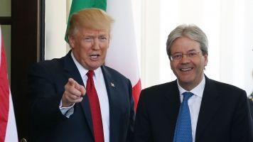 Trump Prods Italy On NATO Spending