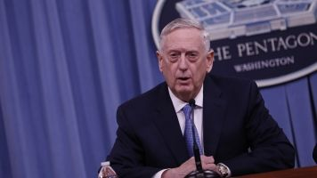 US Defense Secretary Mattis Says Syria Still Has Chemical Weapons