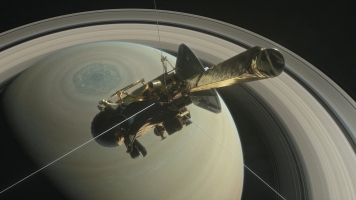 NASA's Cassini Probe Goes Where No Spacecraft Has Gone Before