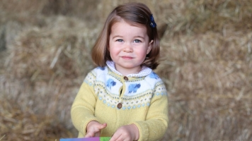 Princess Charlotte Turns 2, But The Public Gets The Gift