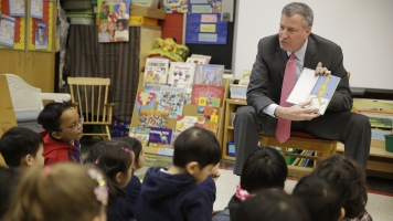 New York City Will Soon Offer Free Preschool For 3-Year-Olds