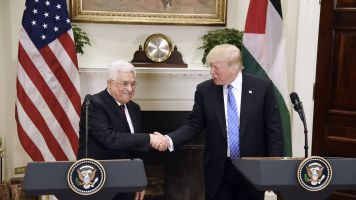 President Trump Is Confident That Israel And Palestine Will Find Peace