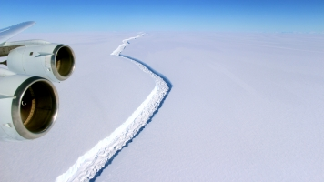 The Probable Fate Of One Of Antarctica's Largest Ice Shelves